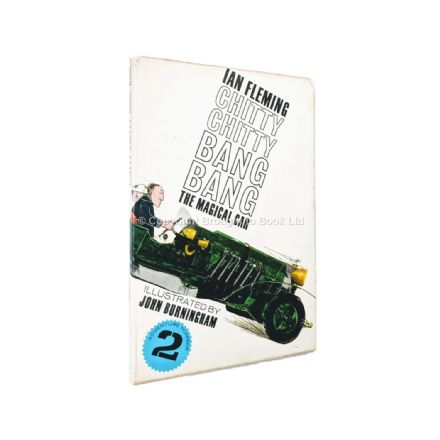 Chitty Chitty Bang Bang The Magical Car Adventure Number 2 by Ian Fleming First Edition 2nd Impres